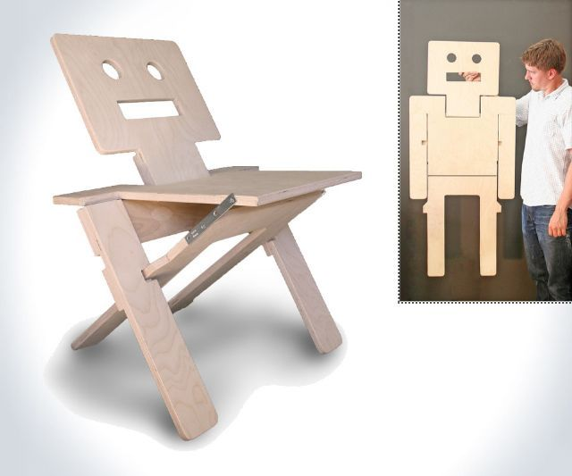 RoboChair   Folding Chair U0026 Wall Art Good Looking