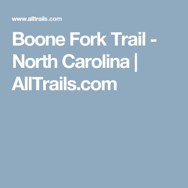 Boone Fork Trail - North Carolina  | AllTrails.com