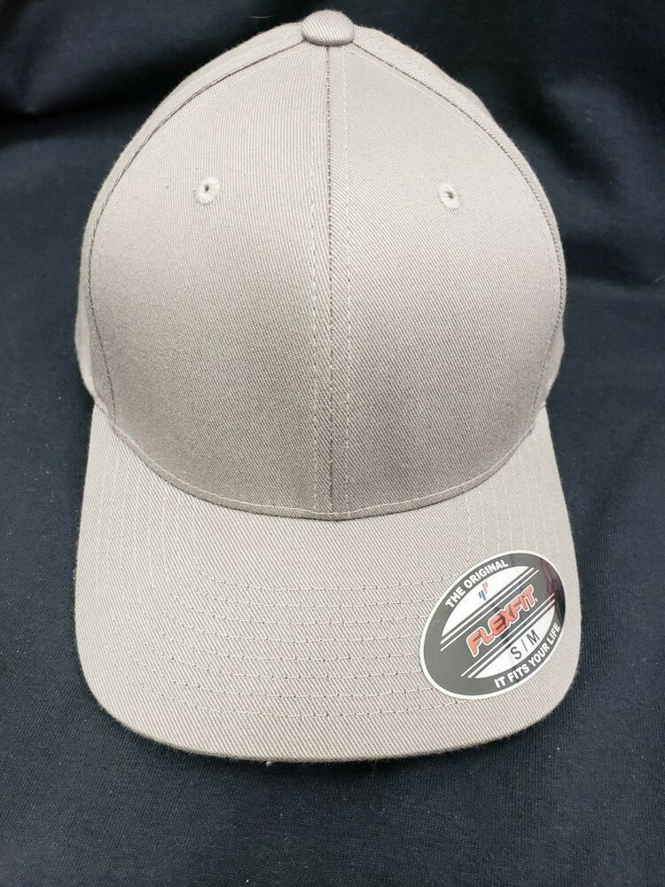 68c42e3934125 dark gray yupoong flexfit hat  fashion  clothing  shoes  accessories   mensaccessories