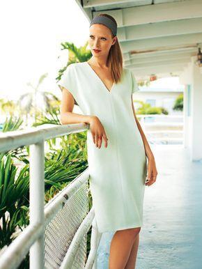 Photo of Schnittmuster: Kleid – V-Ausschnitt – Sommerkleider – Kleider – Damen – burda st…