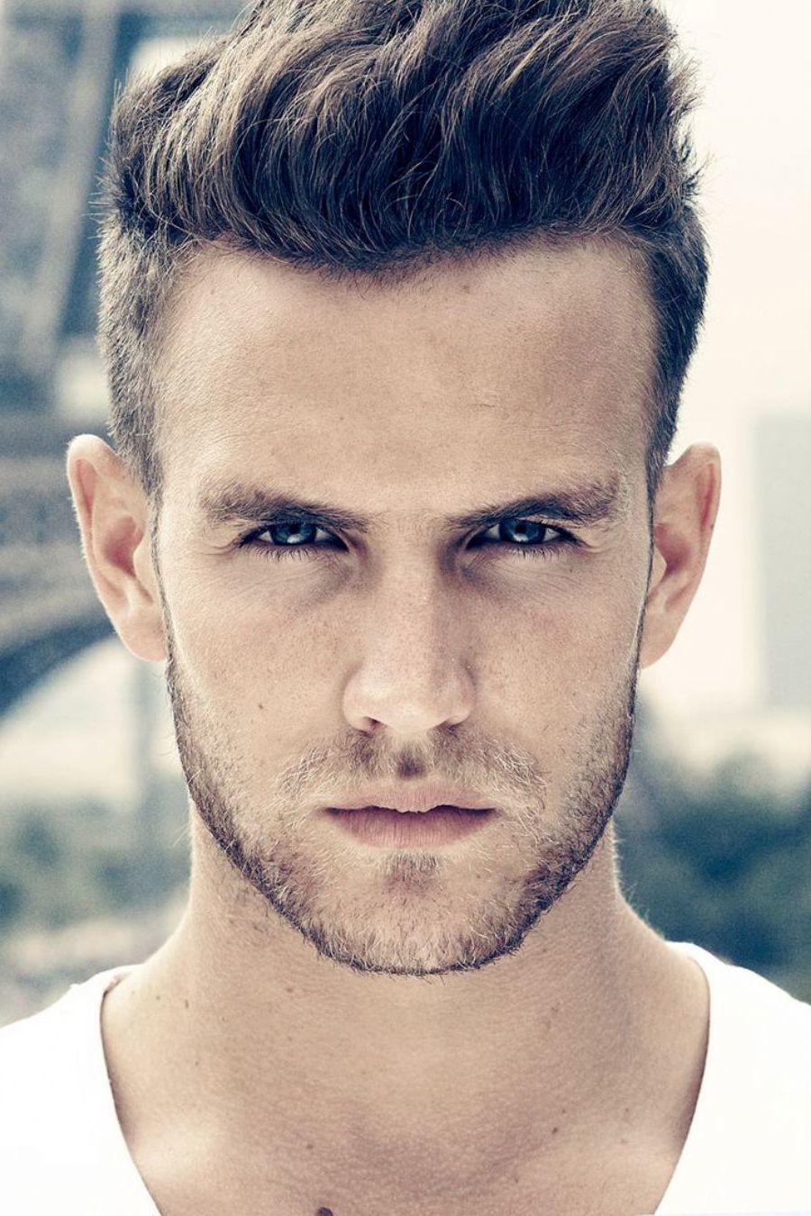 Passende Frisur Finden Männer  8  Coole frisuren, Frisuren