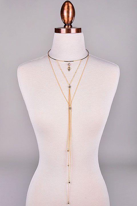 Boho Arrowhead Pendant Choker Necklace. - Necklaces