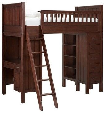 Camp Bunk System - kids beds - other metro - Pottery Barn Kids ...