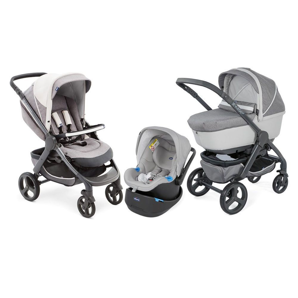 Chicco Duo Style Go Cross Over Elegance Stroller Stroller Chicco Stroller Baby Strollers