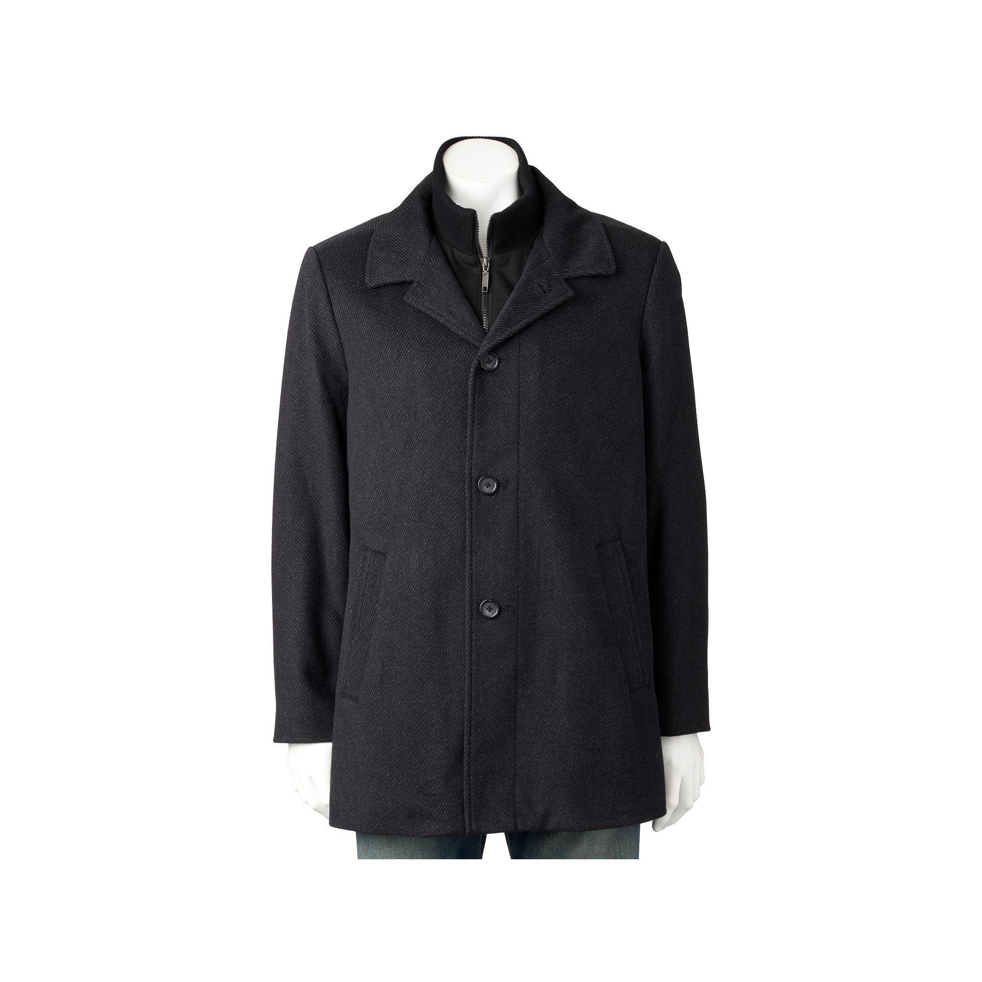 Billy London Slim-Fit 34-in. Wool-Blend Car Coat, Size: 48 ...