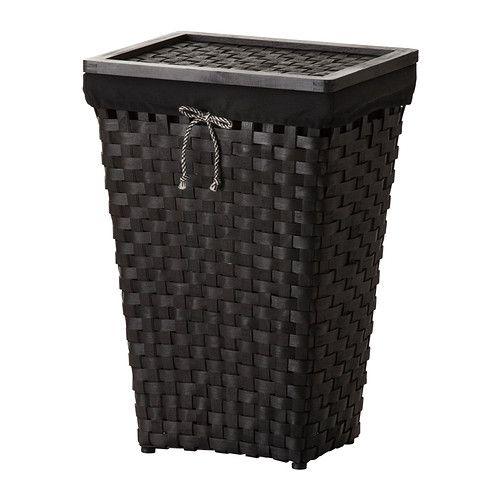 KNARRA Sisältä verhoiltu pyykkikori  - IKEA