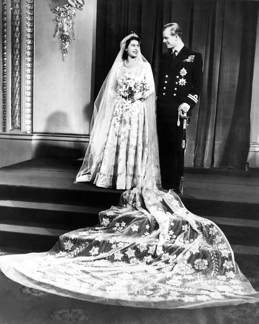 Queen and Prince Philip's 65th wedding anniversary Seven