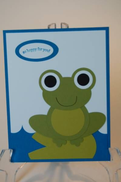 Frog Punch Card~ Un-frog-getable - that's you !