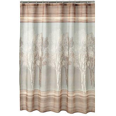 Home Classics Tree Shadow Fabric Shower Curtain Fabric Shower