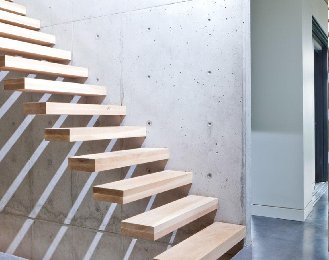 Best Floating Timber Treppe Holz Schwebende Treppe 400 x 300