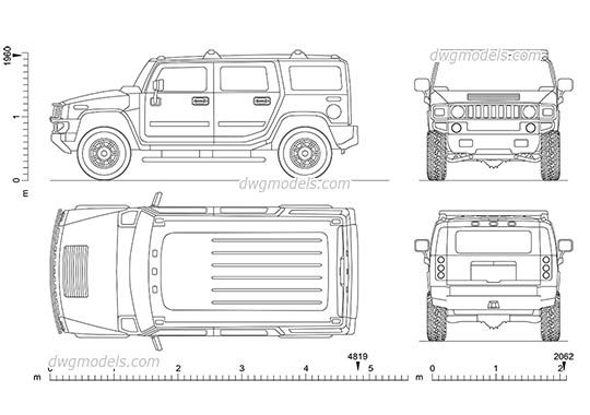 Hummer h2 2002 dwg cad file download free cars and motorcycles hummer h2 2002 dwg cad file download free malvernweather Gallery