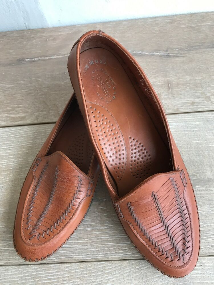 Dexter Womens Shoes Size 11 M Penny Loafers Handsewn Brown ...