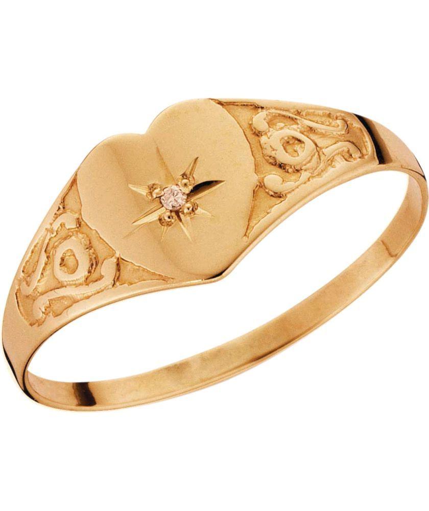 9ct Gold Diamond set /' MUM /' ring.
