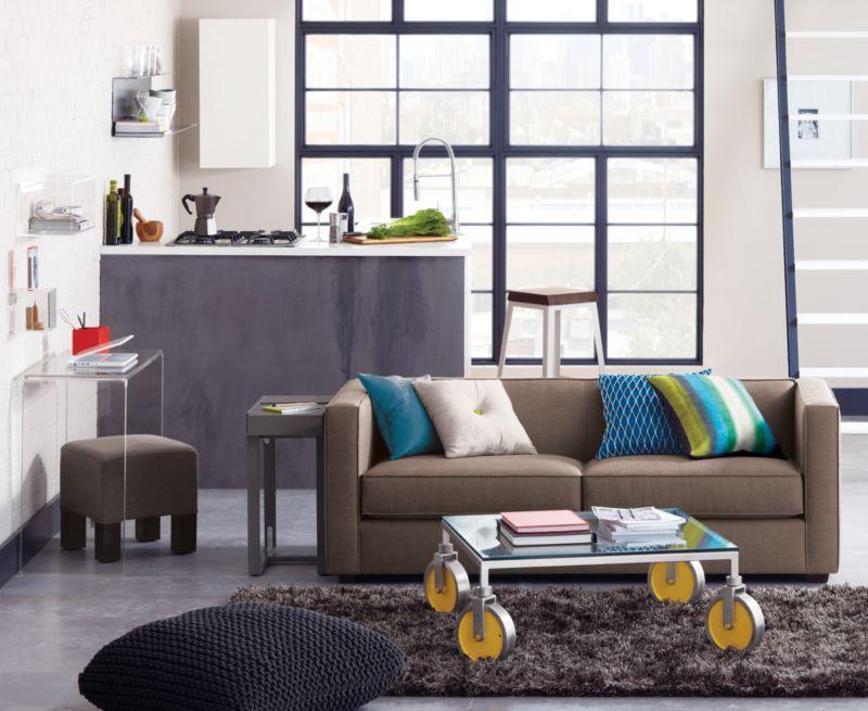 Club Caper Sofa In Sofas Cb2