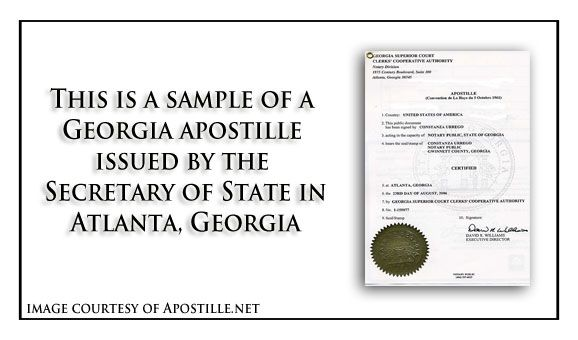 Acceptable signs to apostille certificates of live birth in - sample marriage certificate