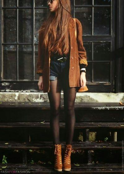 Brown jacket..want!