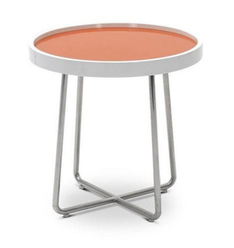 Modrest 213b Modern Orange End Table End Tables Orange Table
