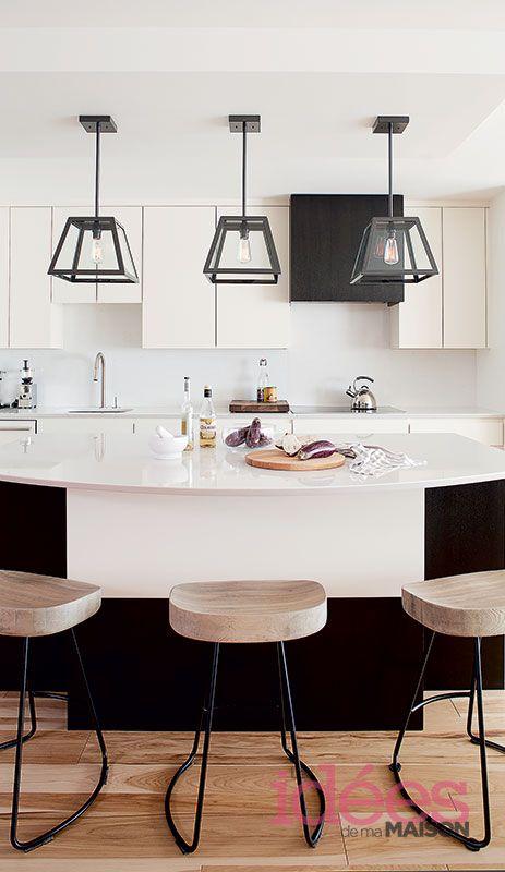 Un condo moderne et chaleureux Les idées de ma maison Photo ©TVA