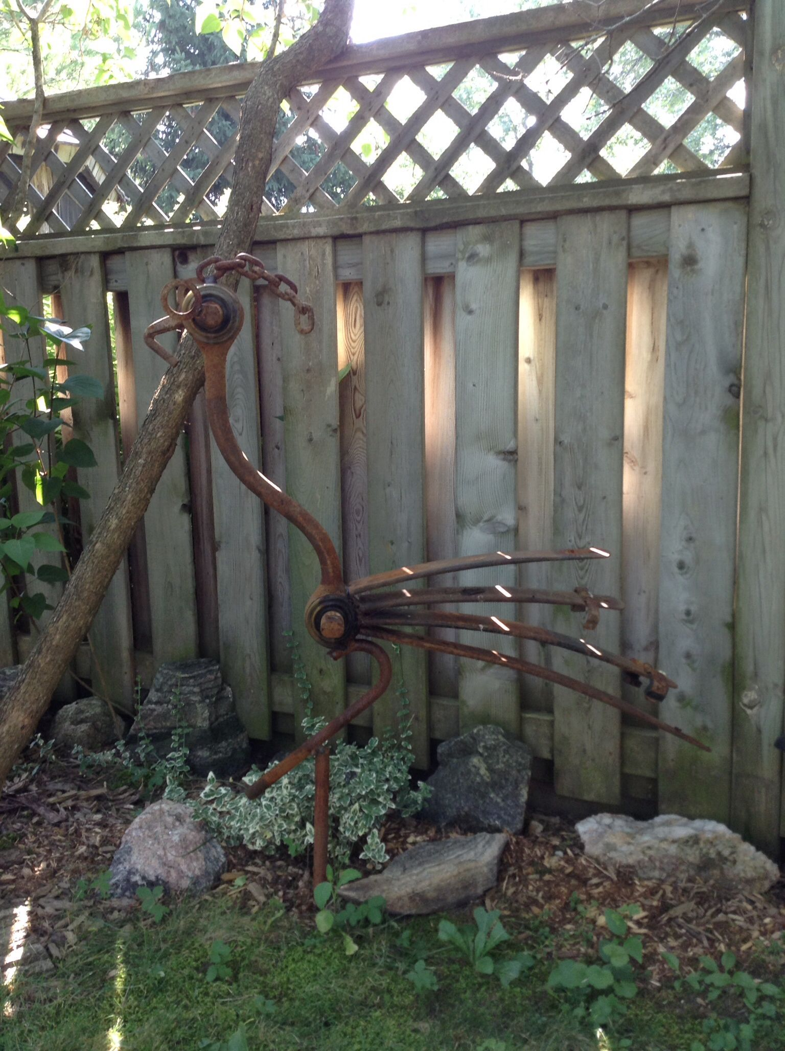 Bon Road Runner Garden Metal Art   Ontario, Canada