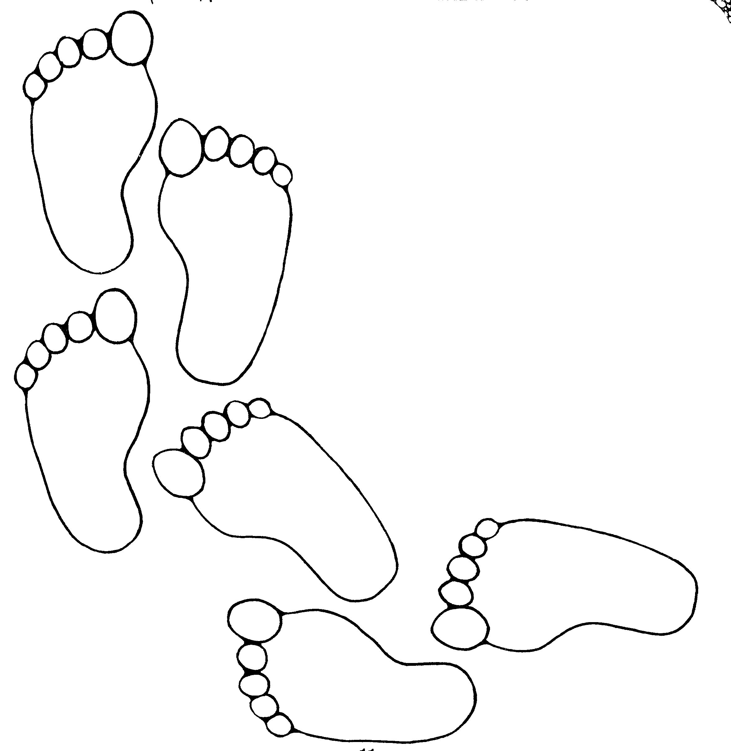 mormon share footprints footprints clip art and baby crafts