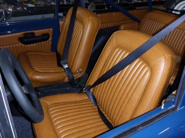 Tan Front Ford Bronco Leather Seats Ford Bronco Classic Bronco