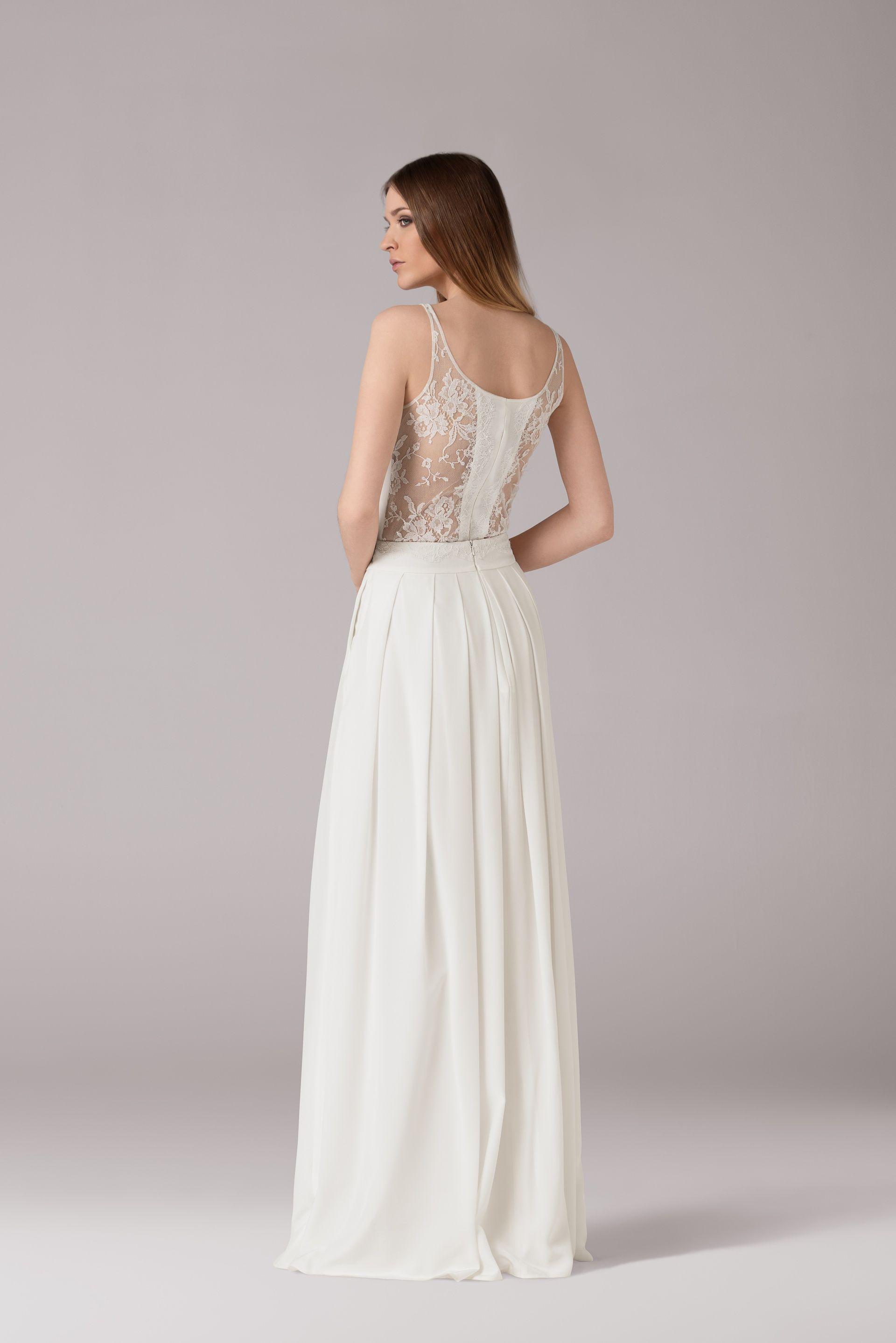 Trendy wedding dresses  Beautiful modern wedding dress Anna Kara  inspirations  Pinterest