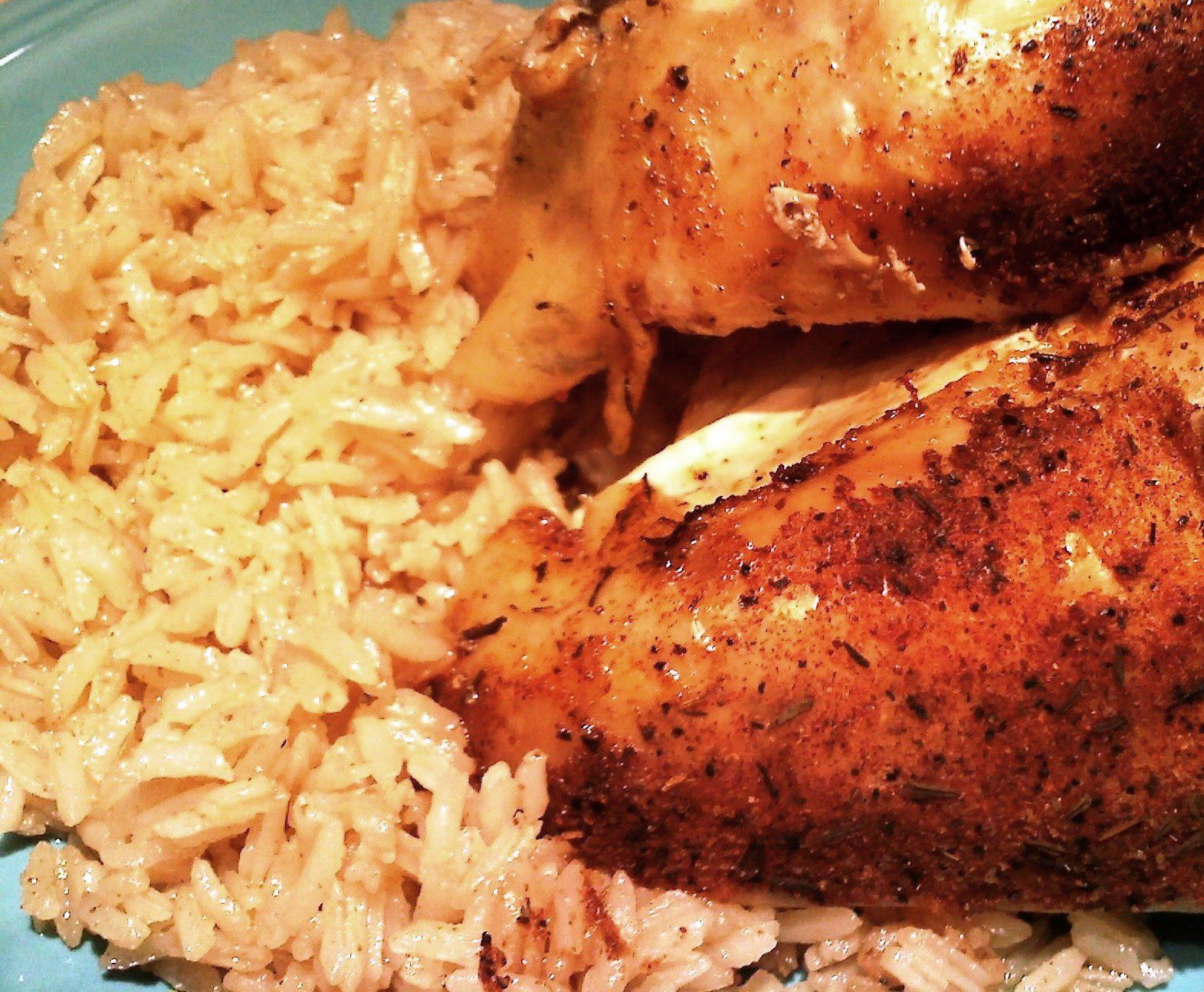 Slow roasted chicken and greasy rice rice mandy rivers and slow roasted chicken and greasy rice southern recipessouthern foodsouthern forumfinder Gallery