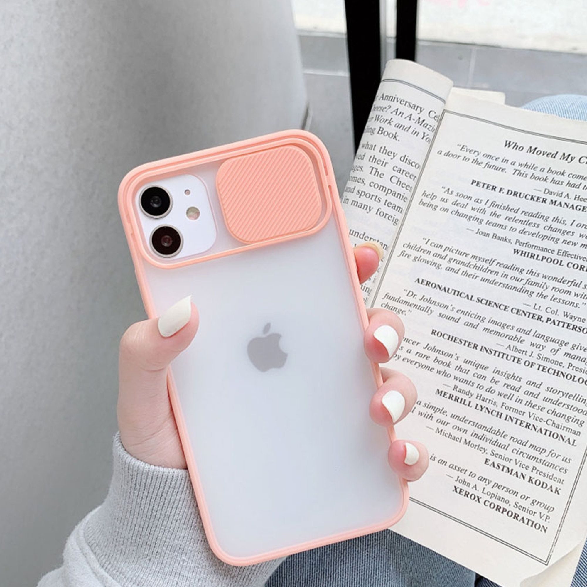 Iphone Case Clear Slide Camera Lens Protection Shockproof Etsy In 2021 Stylish Iphone Cases Iphone Phone Cases Iphone Case Protective