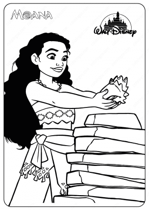 Printable Disney Baby Moana Coloring Pages 7 Moana Coloring Pages Moana Coloring Disney Moana