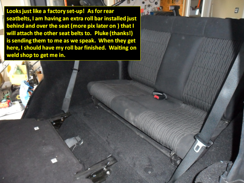 OEM 3rd row seat install on JKU - Jeep Wrangler Forum