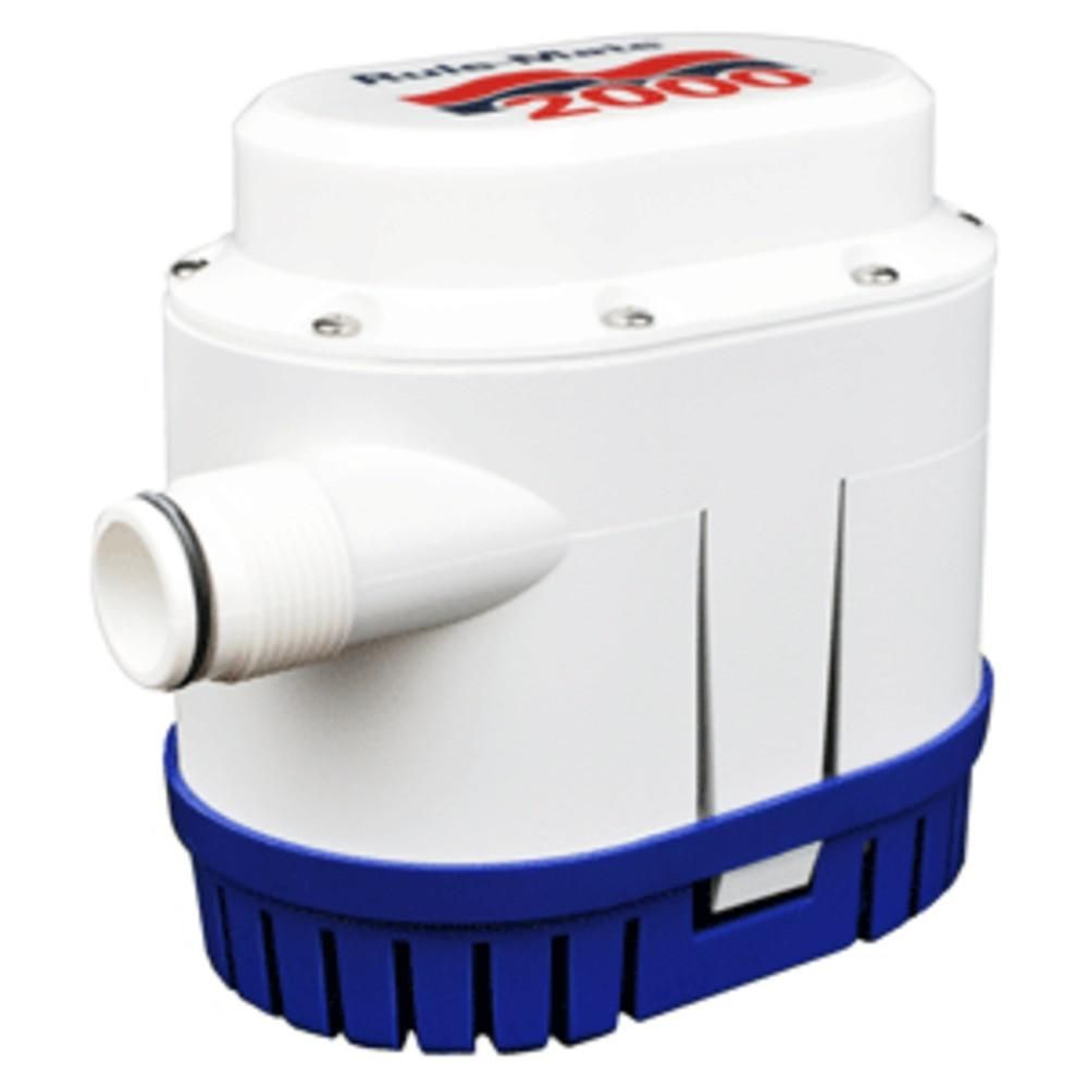 Rule Mate 2000 Gph Fully Automated Bilge Pump 12v How To Make An Electrical Circuit Board Ehow Uk 12 Volt Pumpthe Consists Of A Powerful And Highly Intelligent
