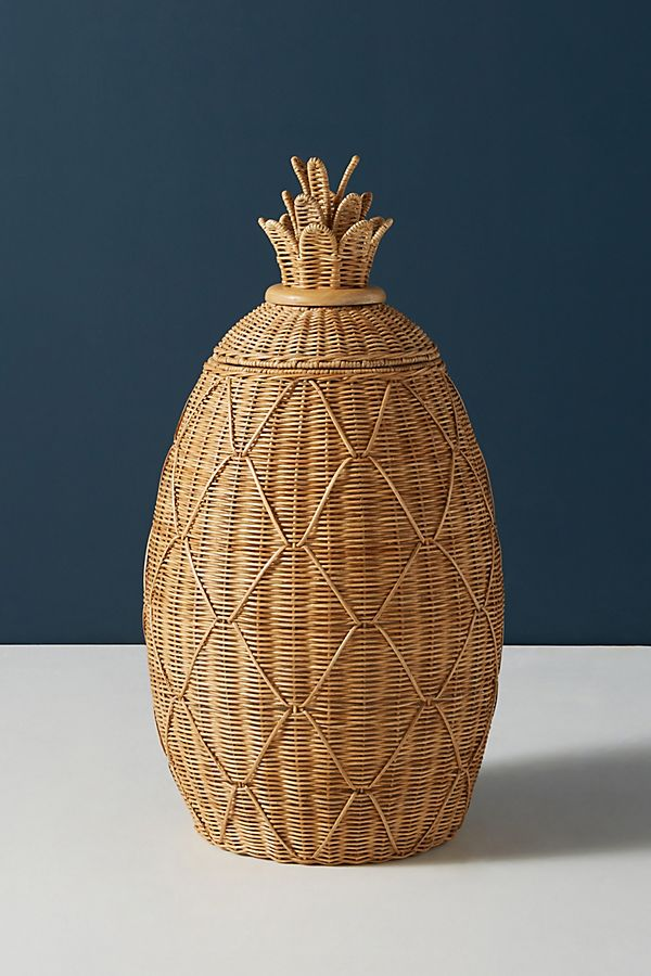 Pineapple Laundry Basket Anthropologie In 2020 Laundry