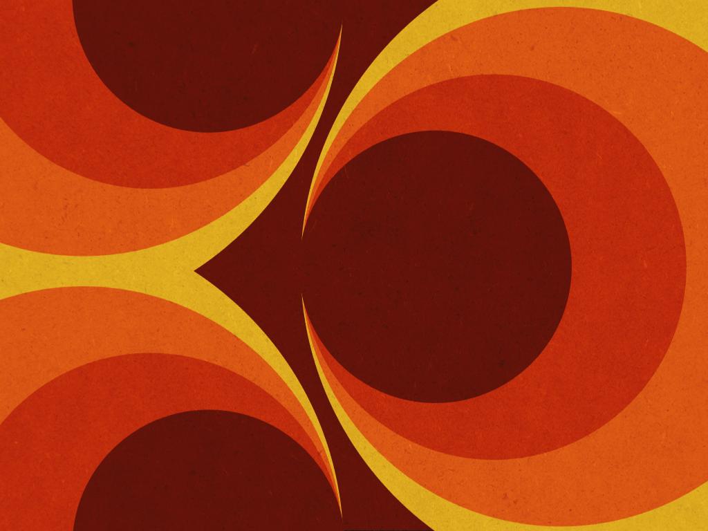 Wallpaper From the 20s   Retro orange aesthetic wallpaper ...