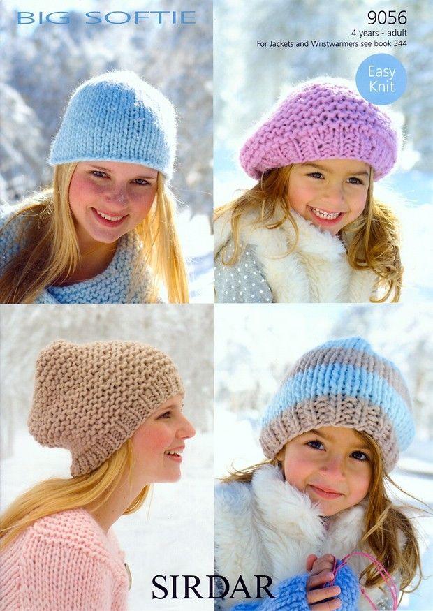 Hats in Sirdar Big Softie - 9056