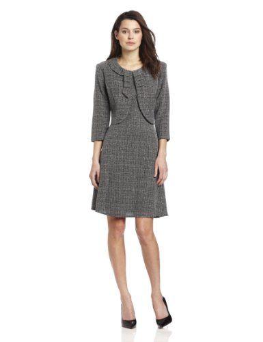 Ladies Business Suits Danny Nicole Women S Petite Tweed Jacket