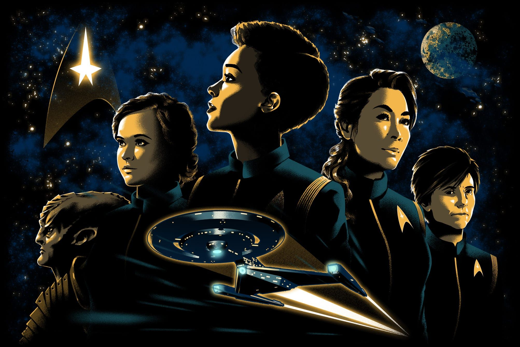 Paid Post By Cbs Women Drive The Action In Star Trek Discovery Star Trek Show Star Trek Star Trek Universe