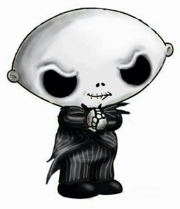 Family Guy's ~Stewie Griffen ~As Jack Skeleton ~ | ~† Tattoo Art ...