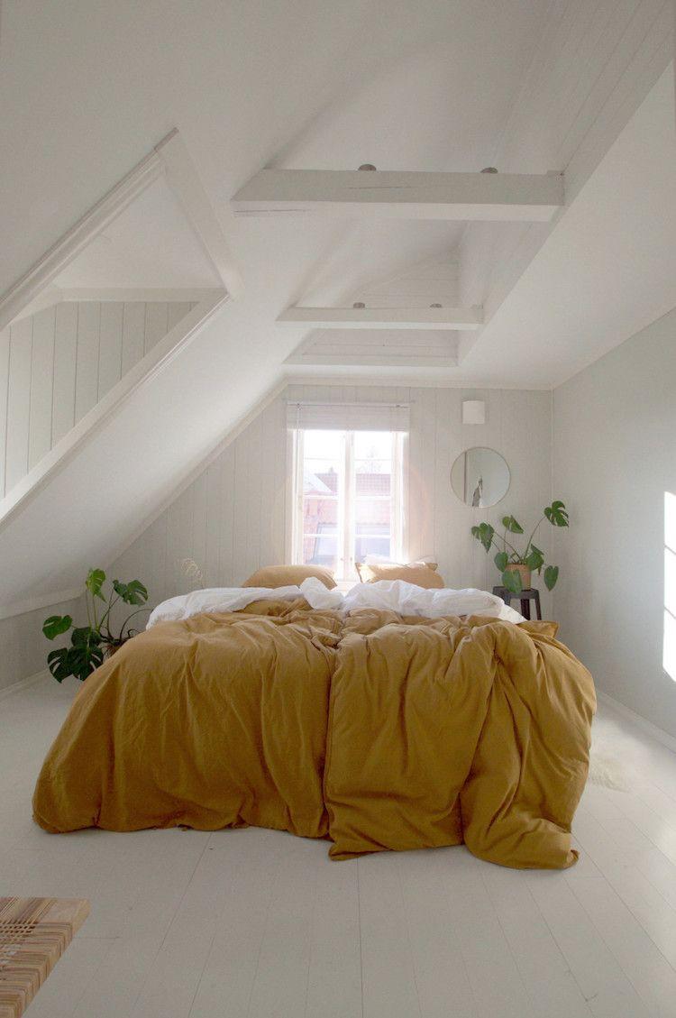 Wohnideen Schlafzimmer Schrg   4 Gezellige Herfstslaapkamers In Noorwegen In 2018 Skandinavisches