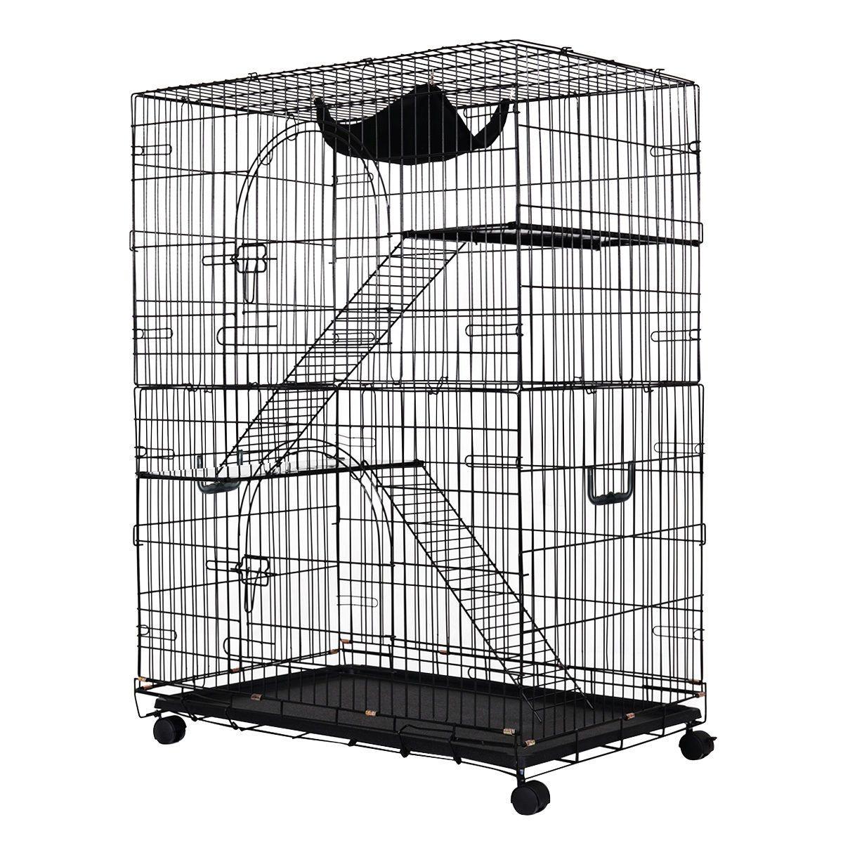 2 Tier Cat Playpen Cat Cage Cat Playpen Cat Cages Cat Crate