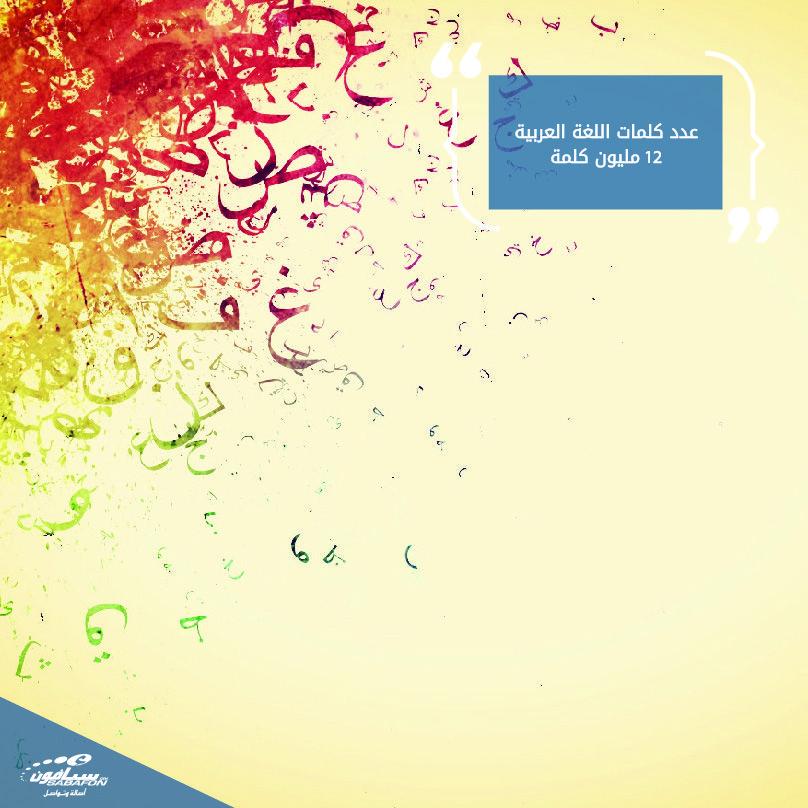 عدد كلمات اللغة العربية 12 مليون كلمة وهي تتصدر المرتبة الأولى بين كل لغات العالم من حيث عدد الكلمات حقيقة Poster Movie Posters Art