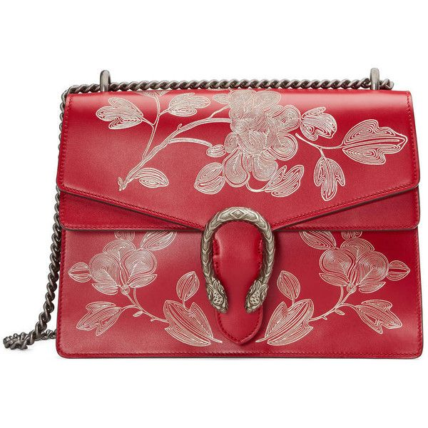 Gucci Chinese New Year Dionysus Shoulder Bag (8.595 BRL) ❤ liked on Polyvore featuring bags, handbags, shoulder bags, red, women, red leather handbags, man bag, red leather shoulder bag, gucci handbags and gucci shoulder bag