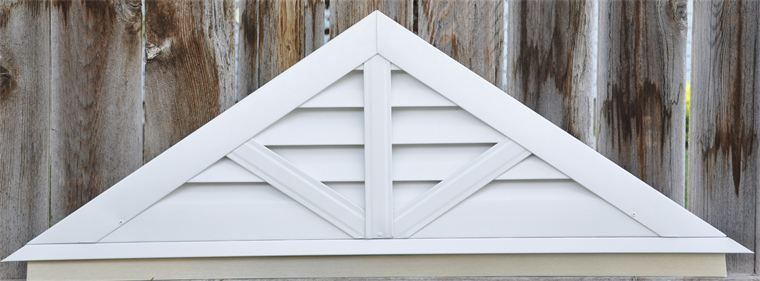 Gable Vent Triangle Vertical Google Search Gable Vents Exterior Trim House Siding