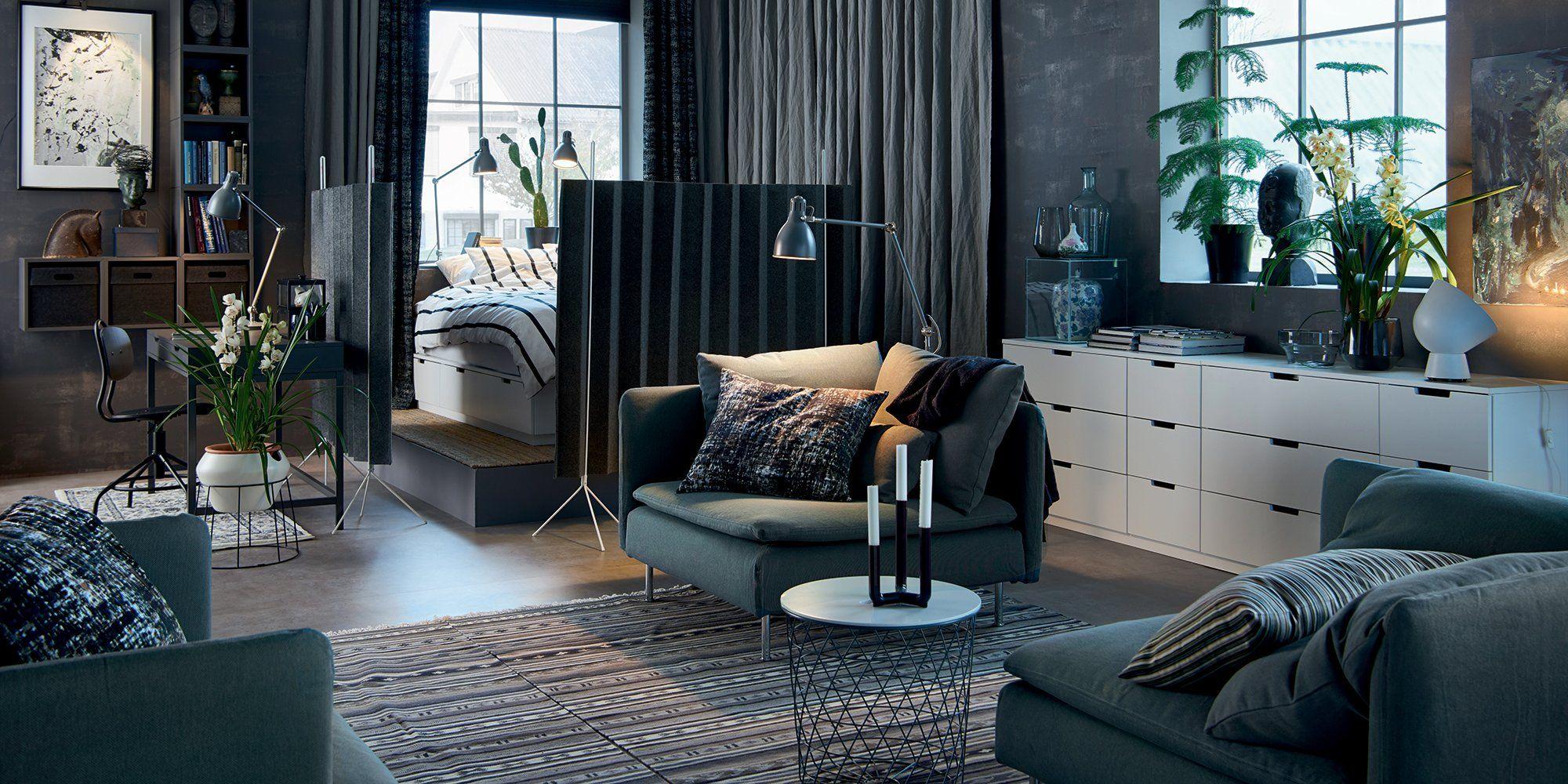 Separer Une Chambre D Un Salon 4 solutions pour séparer son studio en deux pièces   cloison
