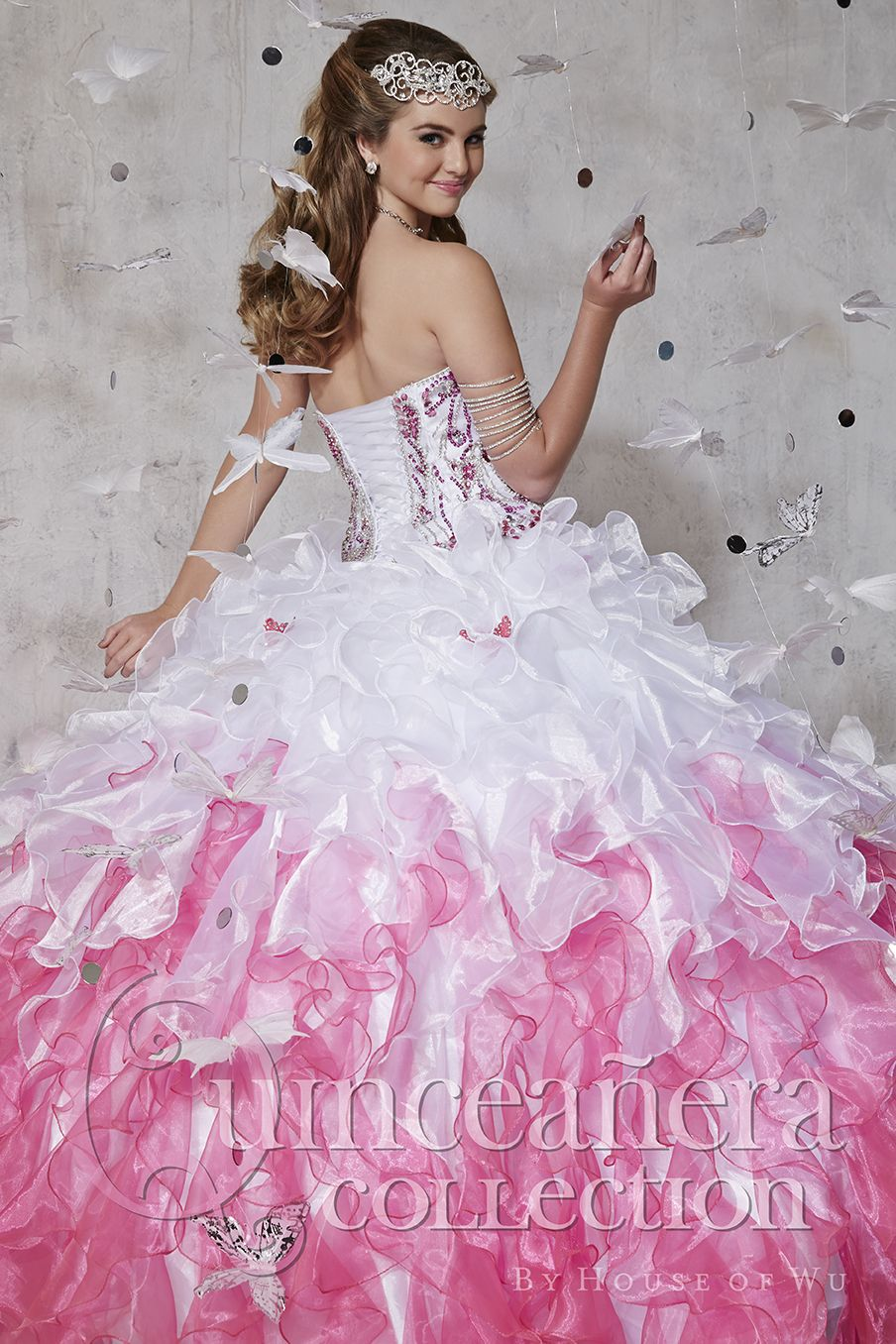 Quinceanera Collection Style 26795: A corset with natural fitted ...