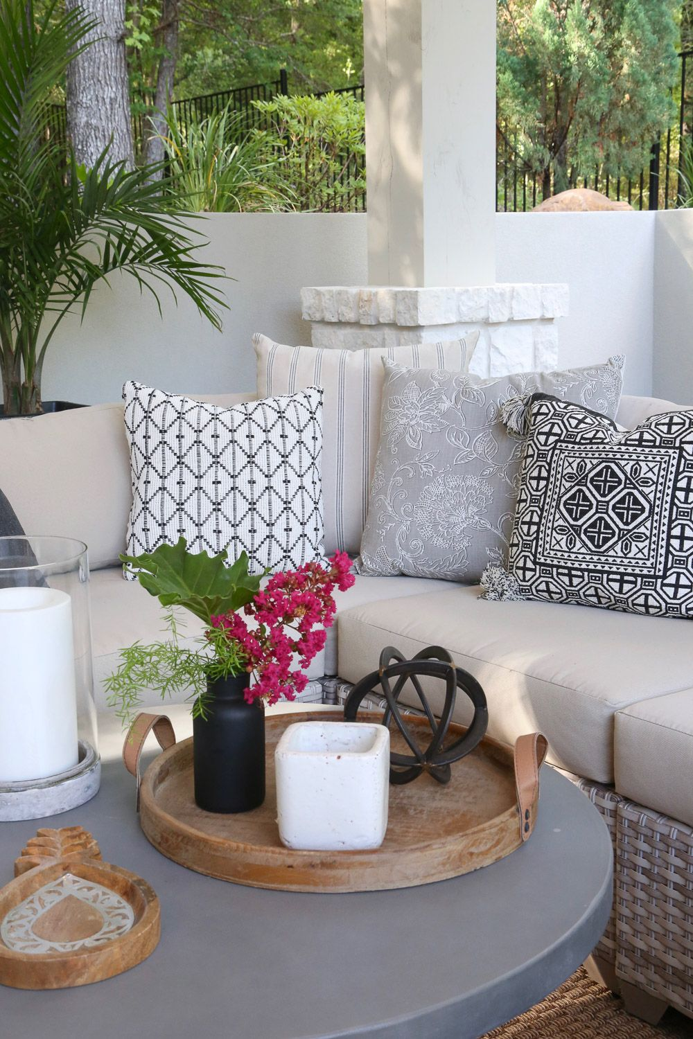 5 Minute Outdoor Decorating Tips And Tricks Summer Outdoor Decor