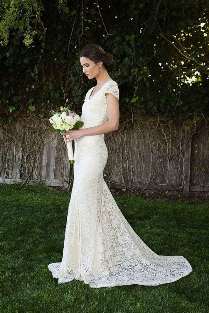 Vestidos de boda fabulosos para el relajado novia
