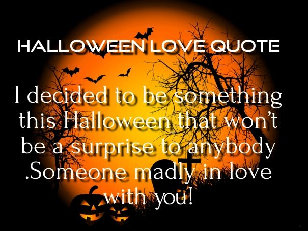 halloween love quotes for him her