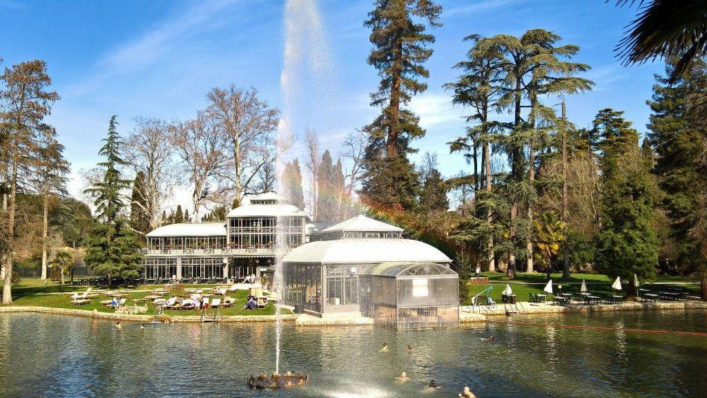 Villa dei Cedri Thermal Park Villa, Spa holiday, Lake
