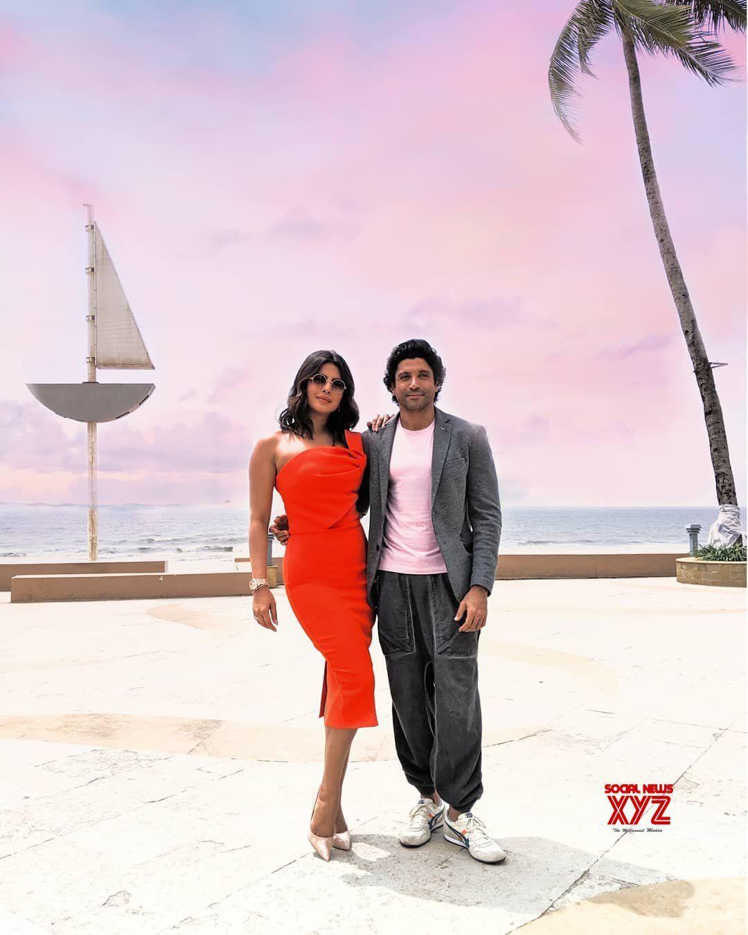 Actress Priyanka Chopra New Stills From The Sky Is Pink Movie Promotions Social News Xyz Actress Priyanka Chopra Priyanka Chopra Pink Movies
