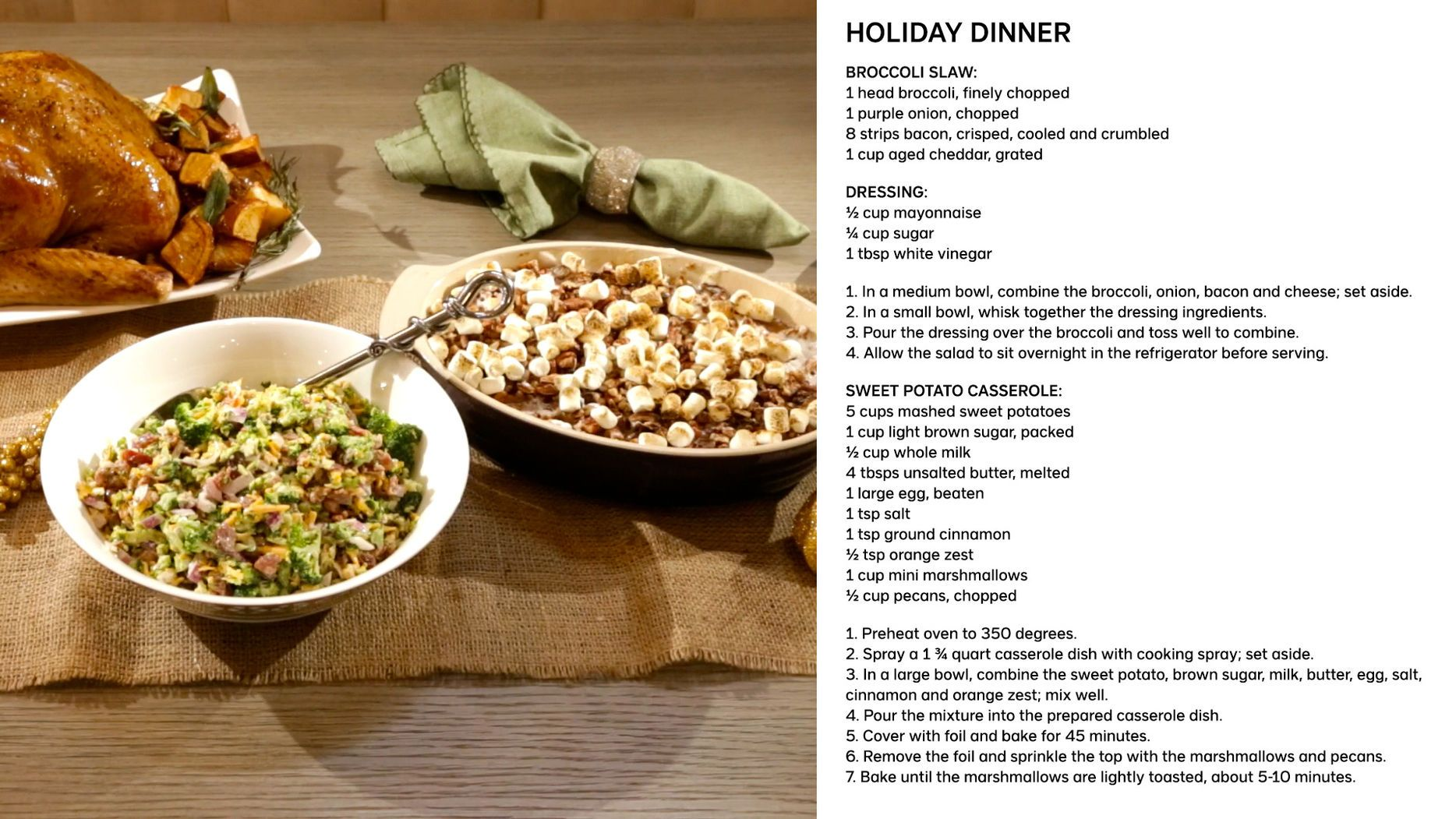 Julies side dish recipes will surely up anyones holiday dinner julies side dish recipes will surely up anyones holiday dinner game forumfinder Image collections